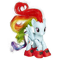 Май литл пони My Little Pony Рейнбоу Деш c артикуляцие (My Little Pony Rainbow Dash) Hasbro