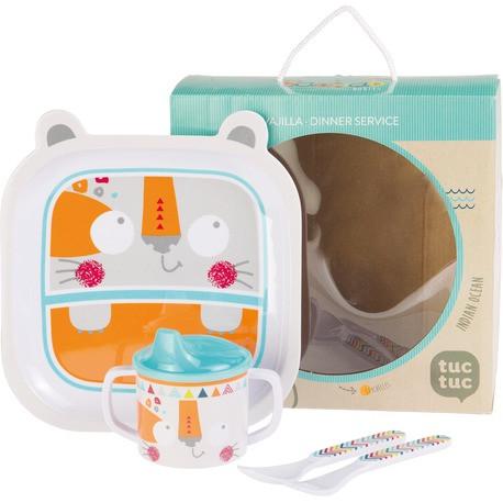 Набор детской посуды, Tuc Tuc  BAOBAB для мальчика