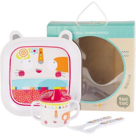 Набір дитячого посуду, Tuc Tuc BAOBAB для дівчинки