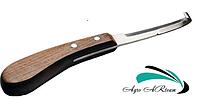 Нож копытный левый (узкое лезвие)