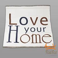 Красивый флисовый плед Love your Home