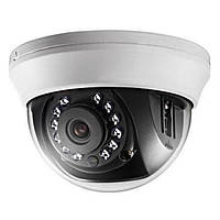 Купольная Turbo HD камера Hikvision DS-2CE56D1T-IRMM, 2 Мп