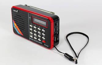Портативная мини колонка SPS WS 958  радиоприемник ФМ, фото 2