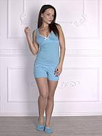 Пижама майка с шортами Роксана 349 размер  М  распродажа отличное качество