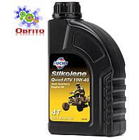 Полусинтетическое моторное масло для квадроциклов Silkolene Quad ATV 10w-40 1л