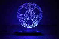 "3D светильник-ночник ""Football"", фото 1"