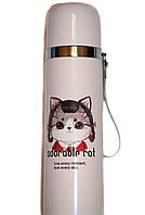 Стильный термос котята 0,5л