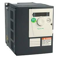 Преобразователь частоты Schneider ATV312 0.55 кВт 3.7 A 1-ф/220 В IP 20