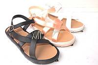 Модные женские силиконовые босоножки размеры 36- 41