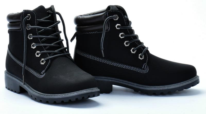 Женские ботинки Nigeria black