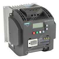 Преобразователь частоты Siemens SINAMICS V20 3 кВт 13.6 A 1-ф/220 В