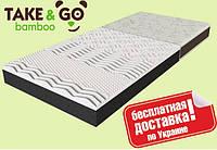 Матрас ортопедический Take&Go bamboo NeoBlack (Нео Блэк), фото 1