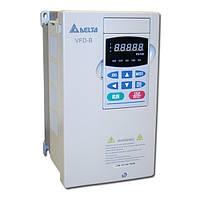 Преобразователь частоты Delta VFD-B 0.75 кВт 5 A 1-ф/220 В IP 20