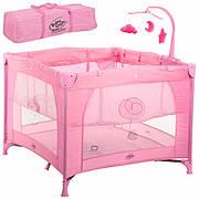 Детский манеж Bambi G 400-8 Розовый