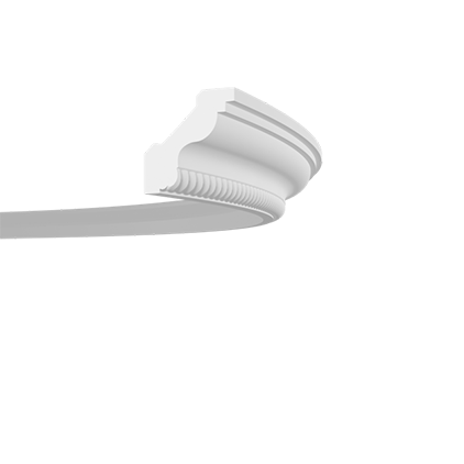 Карниз гибкий Европласт 1.50.272F (33x35)мм