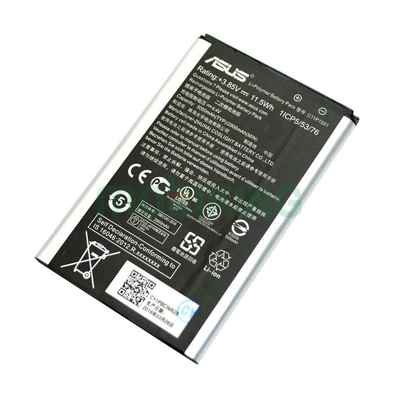 Оригинальная батарея Asus Zenfone 2 Laser (C11P1501) для мобильного телефона, акб оригинал.