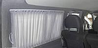 Шторы. Автомобильные шторки на Volkswagen Caddy  серые