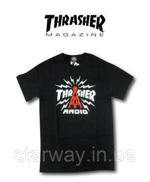 Футболка |принт Thrasher| radio