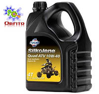 Полусинтетическое моторное масло для квадроциклов Silkolene Quad ATV 10w-40 4л