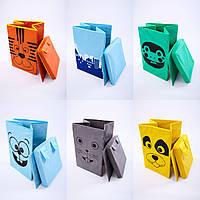 Ящик для хранения игрушек с крышкой