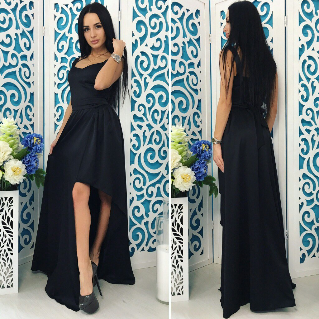 273c8ceac76 Стильное платье в пол
