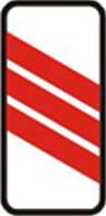 Дорожные знаки Предупреждающие знаки Приближение к железнодорожному переезду 1.31.4