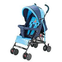 Детская прогулочная коляска Quatro Mini Blue Adamex