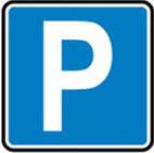 Дорожные знаки Информационно-указательные знаки Место для стоянки 5.38