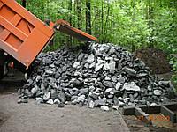 Камень бутовый доставка бутового камня в Киеве