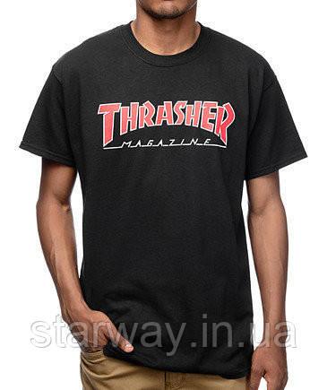 Футболка стильная Thrasher magazine logo