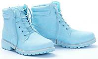 Женские ботинки Principe light blue