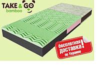 Матрас ортопедический Take&Go bamboo NeoGreen (НеоГрин), фото 1