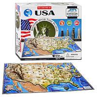 Объемный пазл 4D Cityscape - Соединенные Штаты Америки