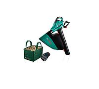 Садовый пылесос BOSCH ALS 25 + сумка + перчатки