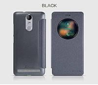Кожаный чехол (книжка) Nillkin Sparkle Series для Lenovo K5 Note / K5 Note Pro            Черный