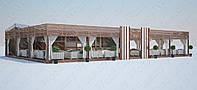 Летние площадки сборно-разборные под ключ. Проектируем и производим.