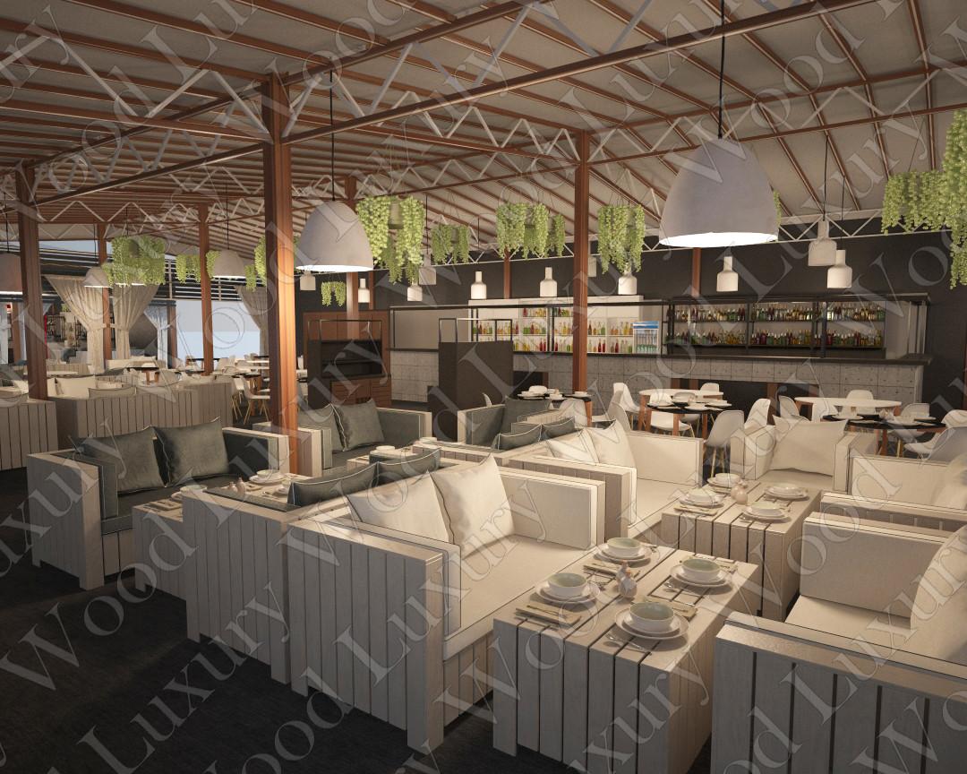 Сборные конструкции для кафе и ресторанов - собираем за 3 дня. - фото 5
