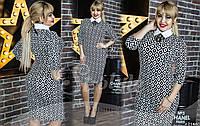 Шикарное платье-футляр для бизнес-леди. Платье предоставлено в трех цветовых решениях.
