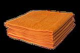 Полотенце махровое 30х50см Оранжевый 420гр Lotus, фото 2