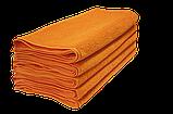 Полотенце махровое 30х50см Оранжевый 420гр Lotus, фото 3