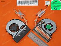 Вентилятор для ноутбука Sony SVF15, Fit15 серий (AB08005HX0803000), DC (5V, 0.5A), 4pin с термомодулем 3VHK9TM