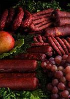 Колбасы полукопченые и жареные