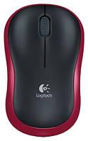 Мышь беспроводная Logitech M185 Wireless Red