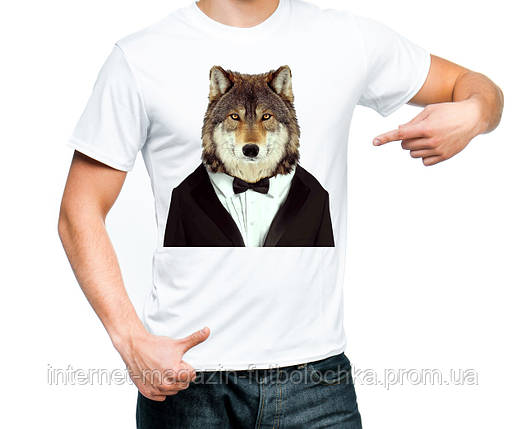 """Футболка """"Волк"""", фото 2"""