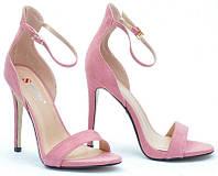 Женские босоножки Leone pink