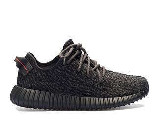 """Мужские кроссовки  Adidas Yeezy Boost 350  """"Black"""""""
