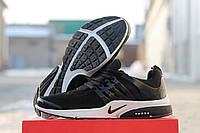 Кроссовки Nike Air Presto черные с белым 1648