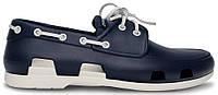 Мужские кроксы Crocs синие/белые