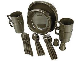 Набор туристической посуды Mil-Tec Camping Set из 26 предметов