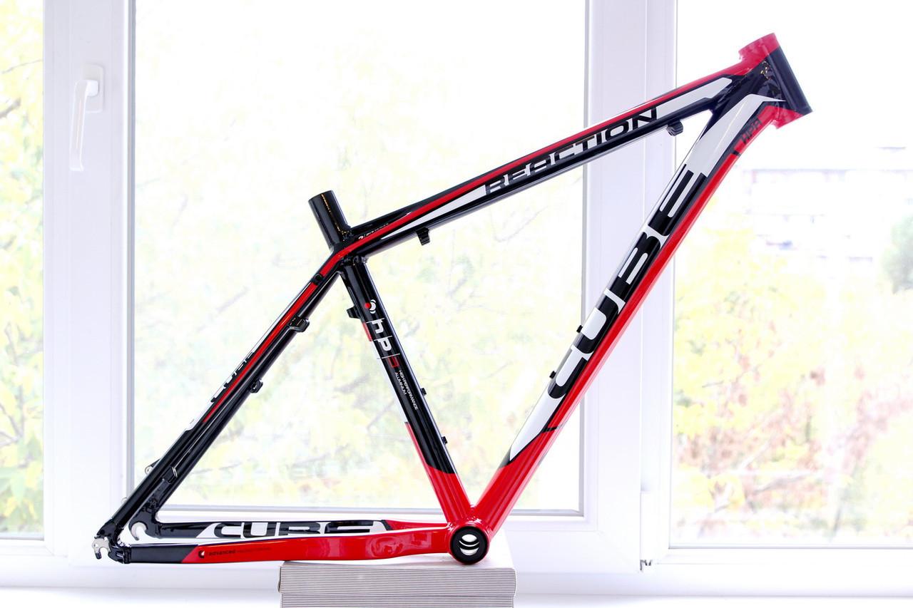 """Велосипедная рама Cube Reaction Pro 26"""", черно-красная"""